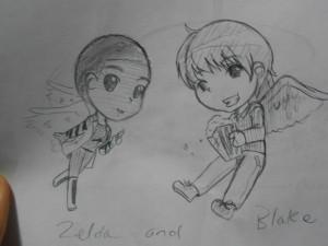 Blake and Zelda